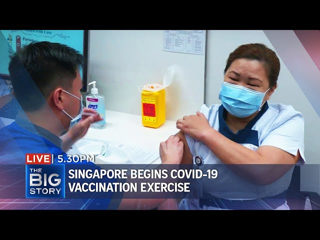 S\'pore begins Covid-19 vaccination; home-based learning set to become mainstream | THE BIG STORY