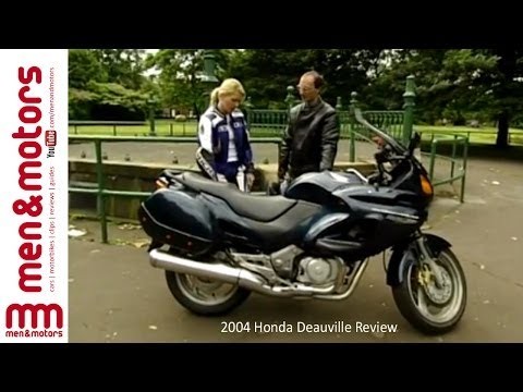 2004 Honda Deauville Review