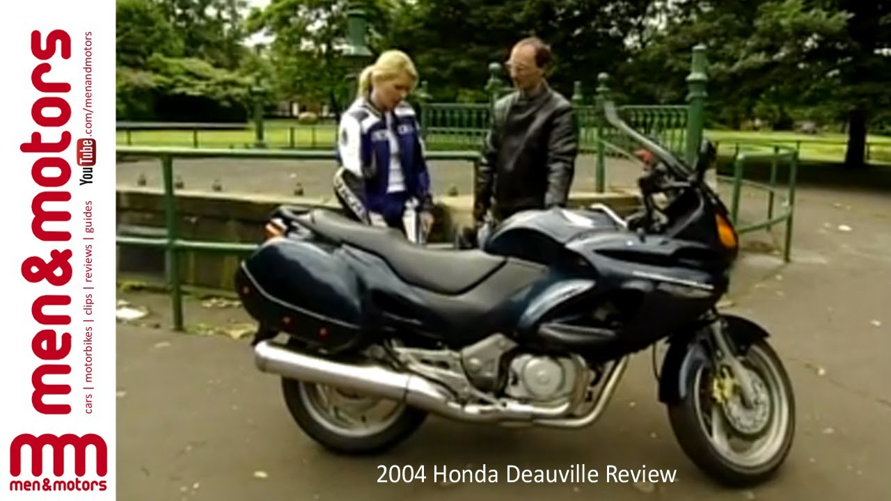 Ride Now Motors >> 2004 Honda Deauville Review - YouTube