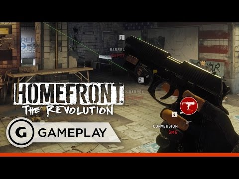 Gun Customisation and Open-World Shenanigans - Homefront: The Revolution Gameplay