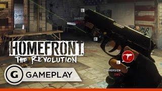 Gun Customisation and Open-World Shenanigans - Homefront: The Revolution Gameplay