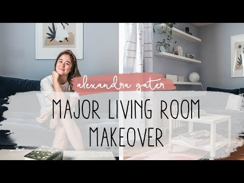 THIS SMALL RENTAL LIVING ROOM GOT A MAJOR DIY MAKEOVER | 7 WAYS TO ADD STYLE TO YOUR LIVING ROOM