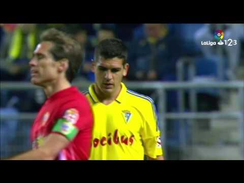 Resumen de Cádiz CF vs UD Almería (1-0)