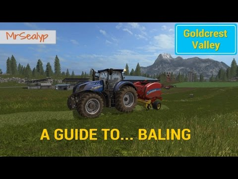 Farming Simulator 17 PS4: A Guide to Baling (How to... & Top tips)
