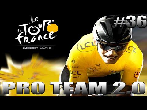 Tour De France 2015   Pro Team 2.0 #36   Première GROSSE BAGARRE