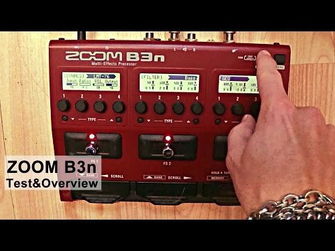Giorgio Terenziani presents Zoom B3n // Test&Overview