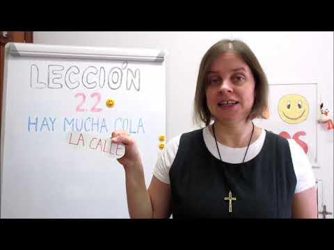 Hola amigos - 22. lekce španělštiny s misionářkou