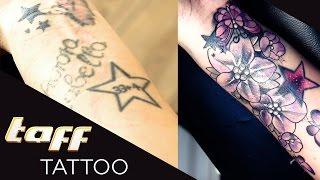 COVER UP: Endlich eine schöne Erinnerung an ihr totes Baby!   taff Tattoo   ProSieben