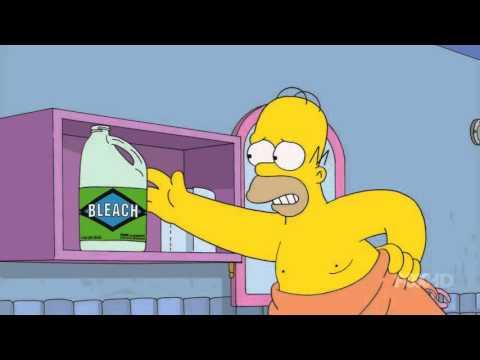 Simpsons Eye Bleach
