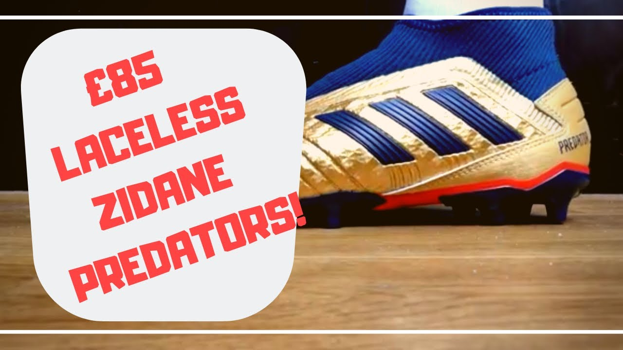 Review: Adidas Predator 19.3 Laceless Icon Pack, Beckham Zidane Takedown  Model