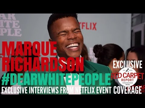Marque Richardson interview at Netflix's Dear White People Vol 2 Special Screening #DearWhitePeople