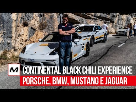 Continental Black Chili Driving Experience | Porsche Boxster, Ford Mustang, BMW M2 & Jaguar I-Pace