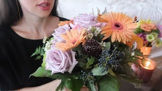 ASMR Flower Shop Roleplay with Tapping 💐 Soft Spoken screenshot 4
