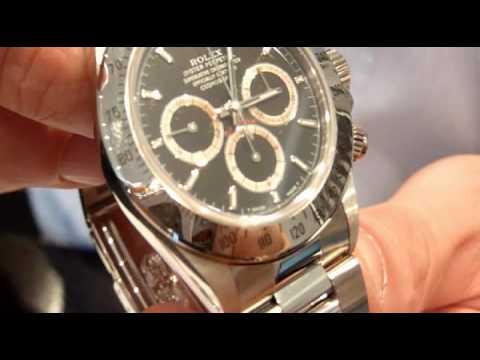 Rolex Daytona Meccanica Zenith - YouTube