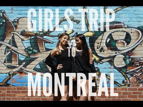 VLOG: GIRLS TRIP to MONTREAL! | Gray Cee