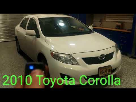 2010 Toyota Corolla Remote Start