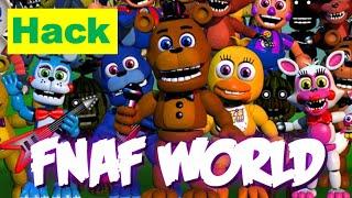 FNaF World Update 2 Hack