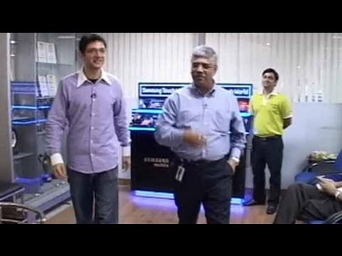 Boss' Day Out: Sunil Dutt of Samsung Electronics (Aired: March 2008)