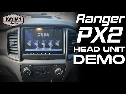 Kayhan audio Satnav for ford ranger MK2 with Apple Car Play