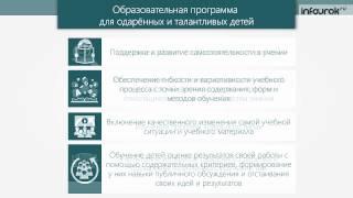 Лекция 3.1 Организация работы с одаренными детьми | Видеолекции | Инфоурок