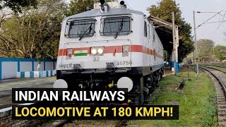 This new Indian Railways locomotive can hit 180 kmph speed mark!