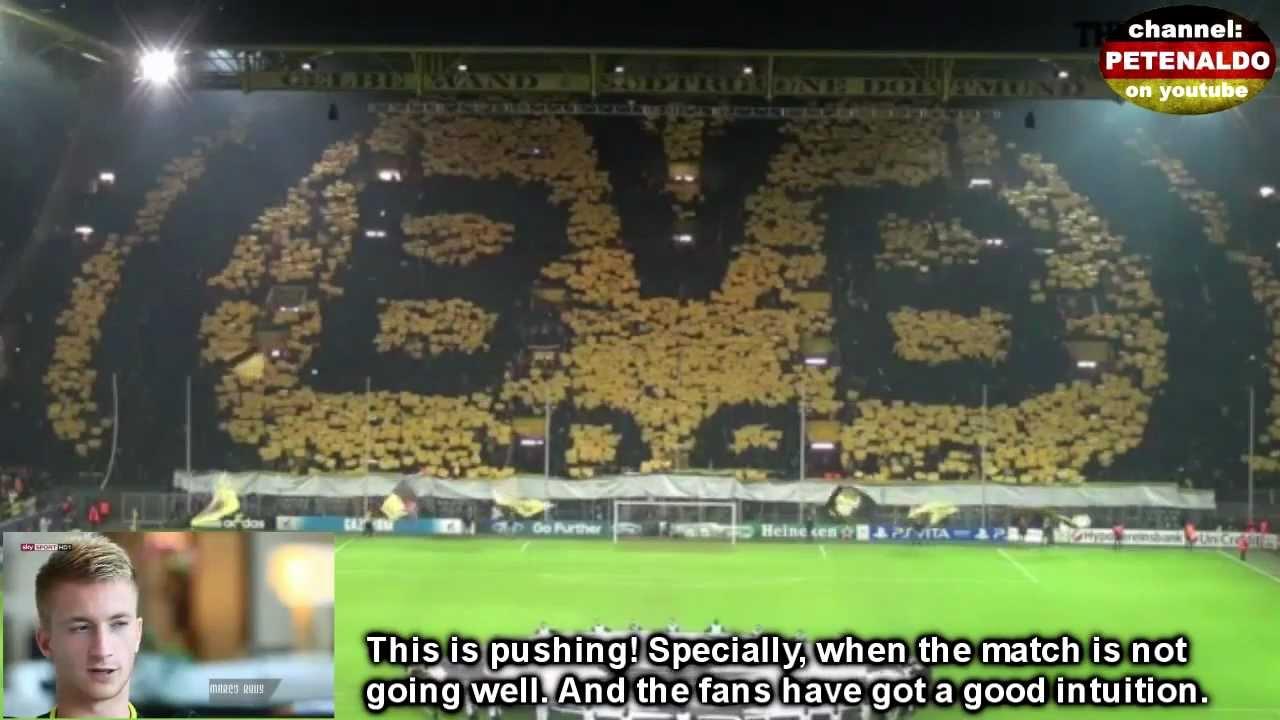 Unique tribute to the standing-place tradition - Südtribüne Borussia Dortmund