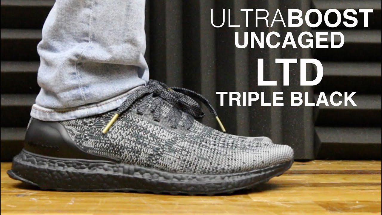 Adidas Ultra Boost Uncaged Black Multicolor Speckle