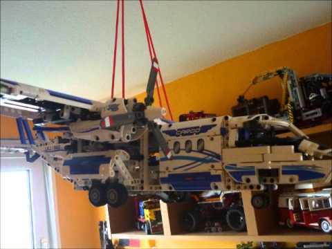 lego technic frachtflugzeug 42025 20 youtube. Black Bedroom Furniture Sets. Home Design Ideas