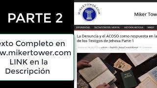 JW. ORG (Artículo periodístico) Una BASE de DATOS Secreta de Pedófilos. Parte 2 de 3