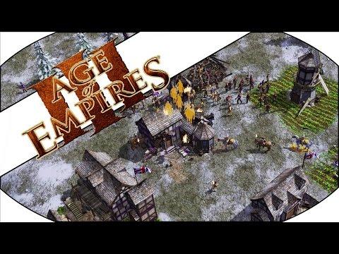 MERCENARY RUSH - Age of Empires III Multiplayer Gameplay!