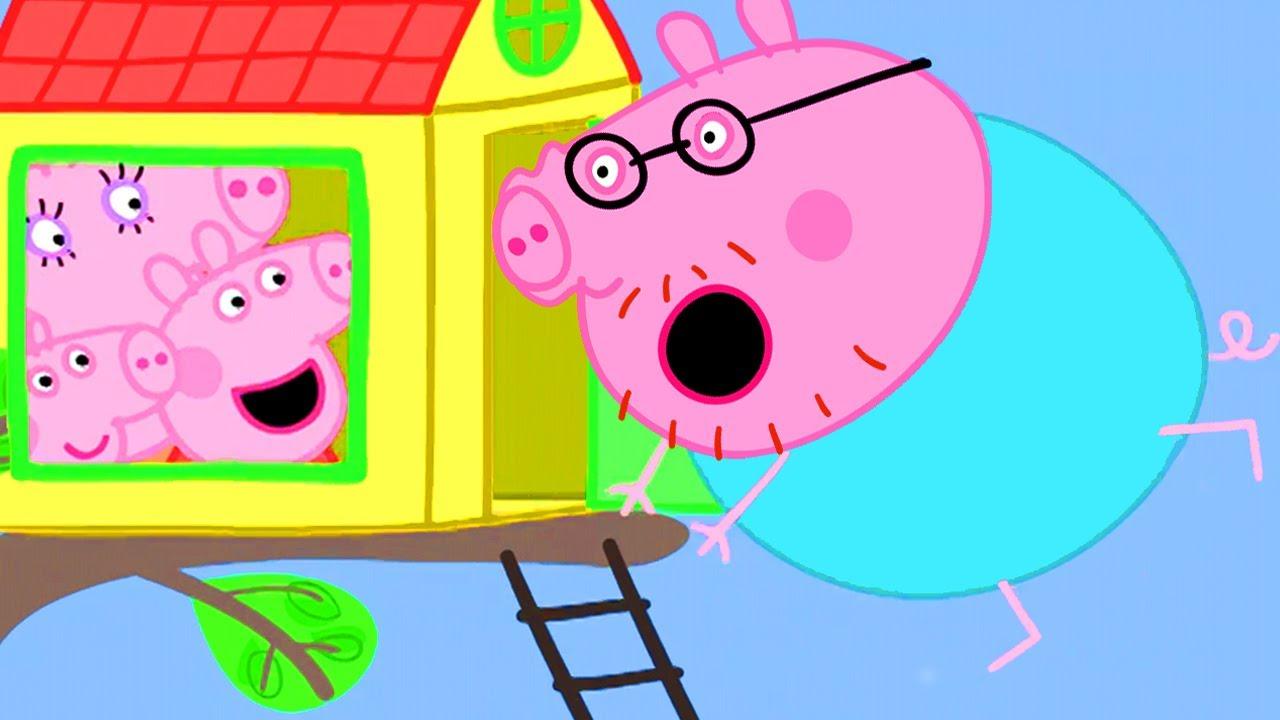 Peppa Pig in Hindi - Tree House - Hindi Cartoons for Kids