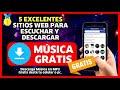 🥇 Cómo DESCARGAR MUSICA GRATIS desde tu Celular ✅ Fácil ✅ Sin Programas