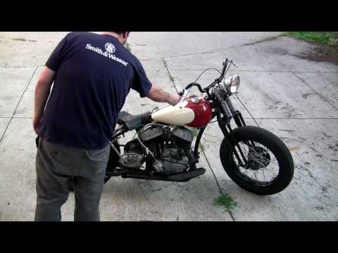 1948 Harley-Davidson WL Flathead