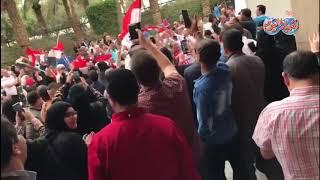 أخبار اليوم | المصريون في الكويت يحولون الانتخابات الرئاسية إلى احتفالية على انغام بشرة خير