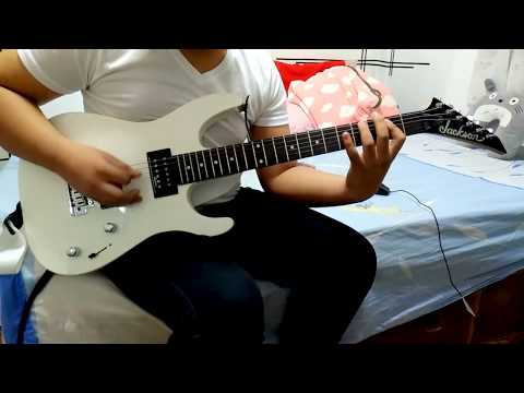My Chemical Romance  Teenagers Guitar Cover With Solo