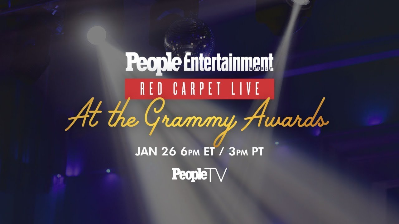 Resultado de imagem para 2020 Grammy Awards Red Carpet LIVE | PeopleTV