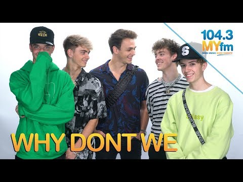 Why Don't We Talk Writing A New Song Every Month & More