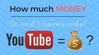 Video How Much Money Does a YouTuber With 1000 Subscribers Make? (When will you start making money?) download MP3, 3GP, MP4, WEBM, AVI, FLV September 2018