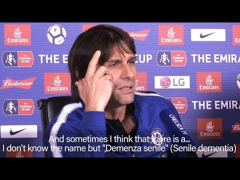 Antonio Conte Hits Back At Jose Mourinho 'Clown' Comments Says He Has 'Senile Dementia'