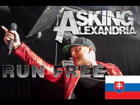 Asking Alexandria - Run Free BRATISLAVA 1.4.2017