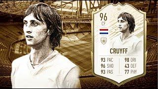 FIFA 20: JOHAN CRUYFF 96 PRIME ICON MOMENT PLAYER REVIEW I FIFA 20 ULTIMATE TEAM