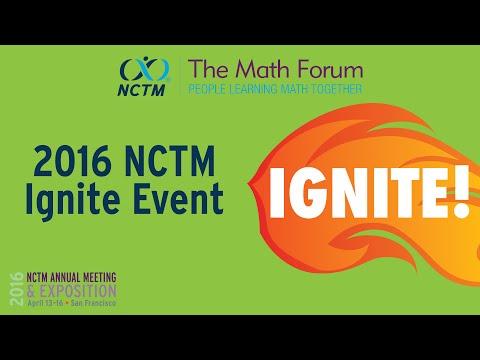 Ignite Event at NCTM 2016