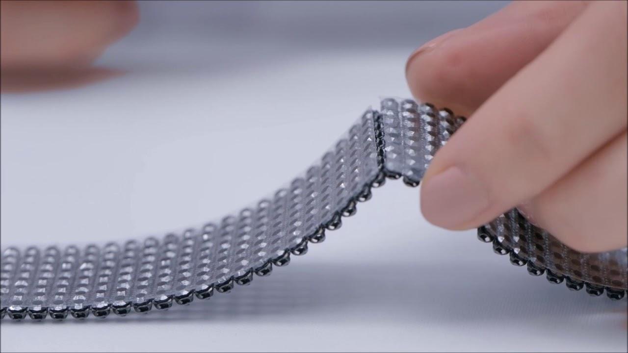 Уроки SWAROVSKI: как разрезать кристальную сетку Crystal Mesh