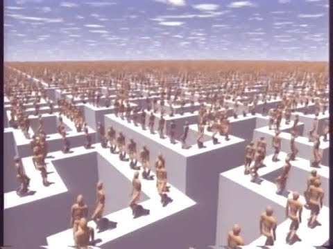 Megacycles (1989) - First Crowd CGI animation