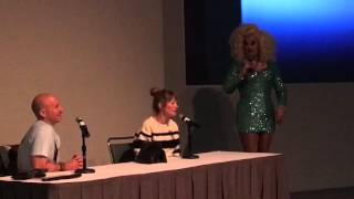 Jawbreaker Film Q&A with Rebecca Gayheart DragCon 2016 Peaches Christ