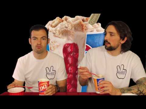 Dairy Queen Royal New York Cheesecake Blizzard - Ep. 813 #TMR