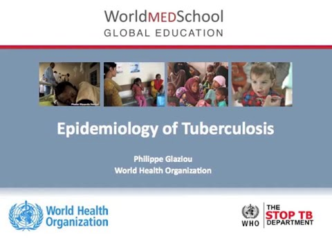 Epidemiology of Tuberculosis by World Health Organization