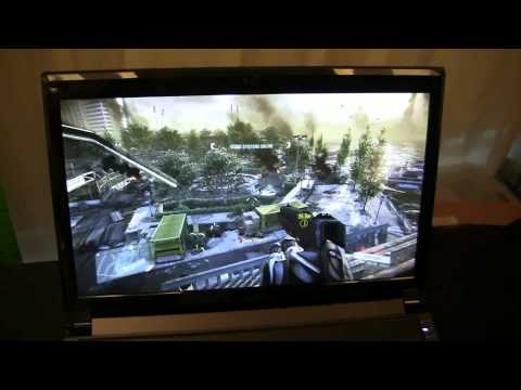 Nvidia GeForce GTX 500M Series Gaming Notebook Line Up Walk Through
