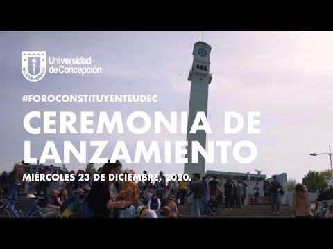 #ForoConstituyenteUdeC: Ceremonia de Lanzamiento