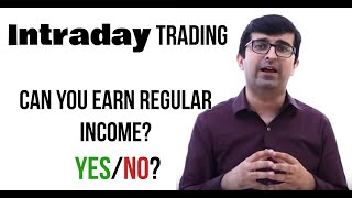 क्या Intraday Trading से Wealth बनती है?? - Is Intraday Trading profitable? (Trading Series Video-1)